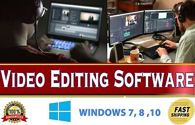 PROFESSIONAL VIDEO EDITING Software Movie Maker Windows 10 8 7 HD 4K DOWNLOAD