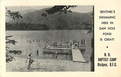 Sentinel's Swimming, Dan Hole Pond, Baptist Camp, Ossipee, New Hampshire 1958