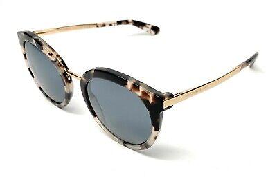 New Dolce & Gabbana DG 4268 2888/6G Havana Women Authentic Sunglasses 52-22-A8