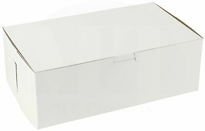10 X 6 X 3 12 Paperboard White Bakery Box By Mt Products Pack Of 15