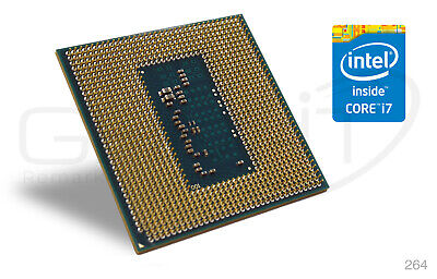 INTEL QUAD CORE i7-4810MQ Haswell 3.8GHz Turbo Notebook Laptop CPU Prozessor - Intel Quad Core Laptop