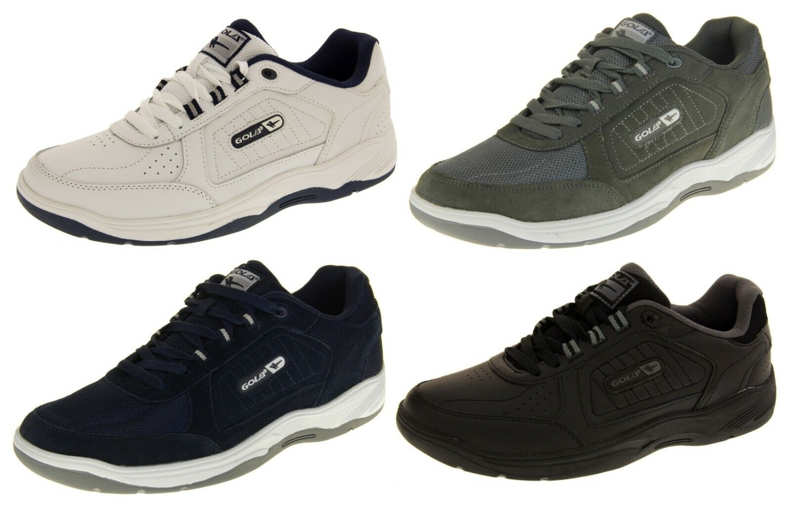 gola mens wide fit trainers