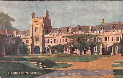 Postcard - Cork - Queen's College