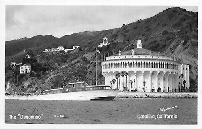 RPPC The Descanso Boat & Casino in Avalon, Catalina Island, California~116652