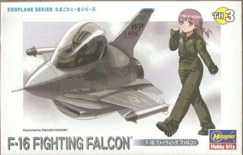 Hasegawa TH03 (60103) F-16 Fighting Falcon (Eggplane Series) US Air Force
