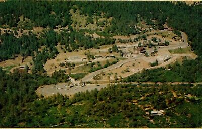 VTG Aerial View Privately Owned Chyenne Mountain Zoo Colorado City CO Postcard