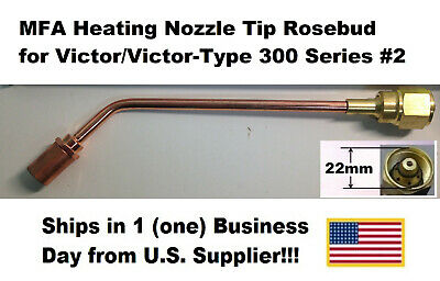 Mfa Heating Nozzle Tip Rosebud For Victorvictor-type 300 Series 2 1187-2