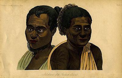 1845 Genuine Antique Portrait
