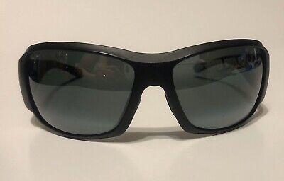 Maui Jim Sunglasses Nine Palms 66.5/18-126 - Black  w/ Gray (Maui Jim Nine Palms)