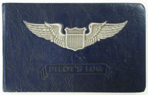 Korean War USAF Pilot Log Book B-25 Bomber African American Black Airman 1950-51