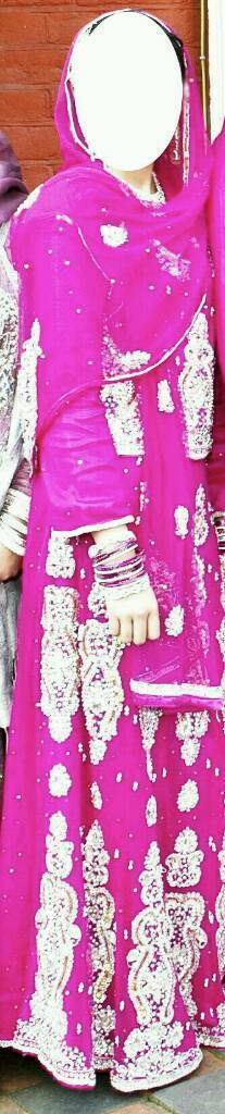 Pink Heavy indian Lengha