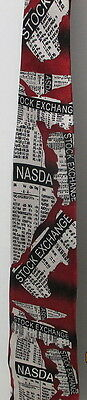 Keith Daniels Stock Market Tie  Nasdaq   Stock Exchange  Awesome Tie