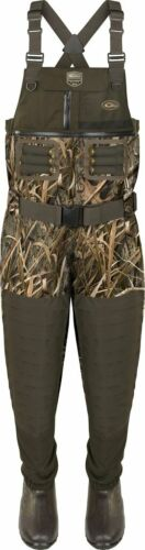 DRAKE GUARDIAN ELITE 6 LAYER 4 in 1 INSULATED CHEST WADERS  DF1160 BLADES 11