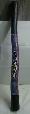 Didgeridoo Aboriginal Wooden Musical Instrument Hand Crafted Painted Made 39""