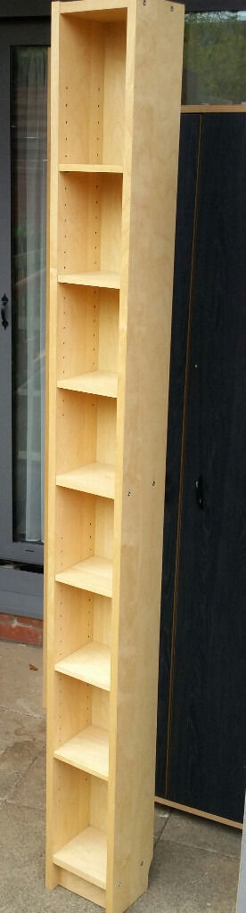 Ikea GNEDBY shelving unit, ideal for CDs or DVDs. 202cm height. In very good condition.