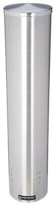 San Jamar C4500pf Pull-type Foam Beverage Cup Dispenser 32-46 Oz Wall Ss