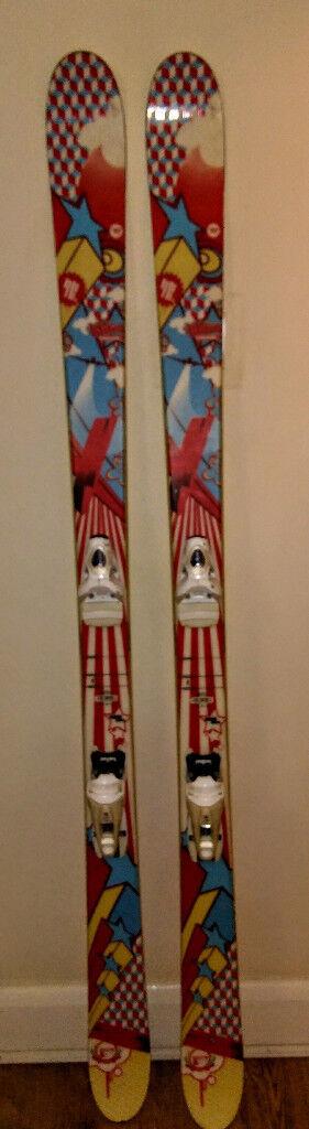 Rossignol Kliny skis 174cm with rossignol bindings