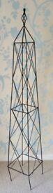 1.5 Meter Parisian Obelisk Plant Climbing Frame NEW