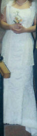 Mori Lee Wedding Dress, Ivory