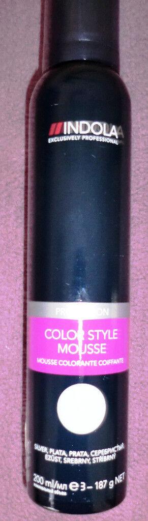 Indola Professional Colour Hair Style Mousse.