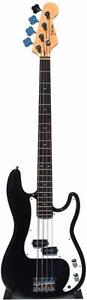 Bass Guitar for beginners brand new black iMEB260