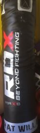 RDX Punchbag 30kg with bracket chain and bag gloves