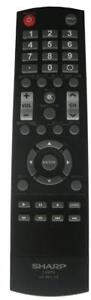 Sharp LCDTV LC-RC1-16 LCRC116 Remote Control