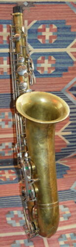 Vintage GRENADIER Tenor Sax/Saxophone ( Made In Italy - Malerne?)