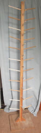 Hand made knitting wool cone tree/stand