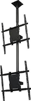 """Crimson Dual screen ceiling mounted monitor system for 37-65""""+ displays C2K65"""