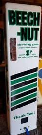 Beech nut vintage vending machine