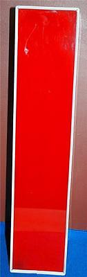 Letter I Or Number 1 Red White Indoor Outdoor Large Acrylic Advertising Sign