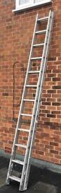 12 run double extending ladders