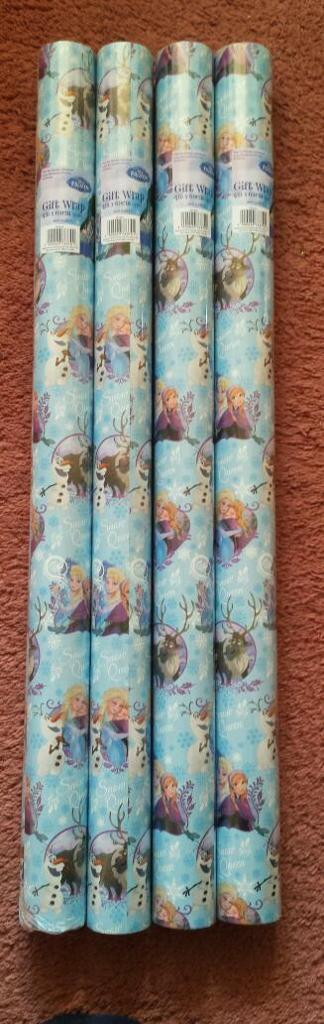 Brand New Frozen Wrapping Paper