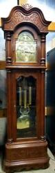 The La Maree Grandfather Clock By Ridgeway Triple Chime, 7 Foot, Model # 171