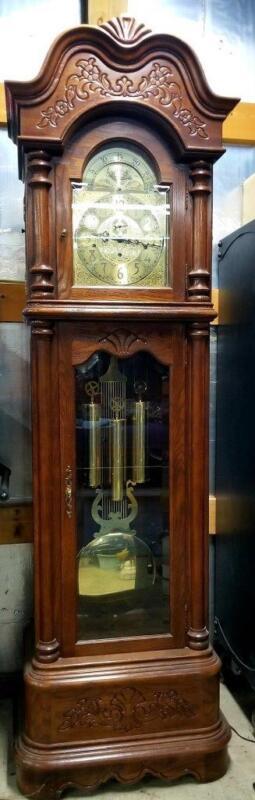 """The La Maree"" Grandfather Clock By Ridgeway Triple Chime, 7 Foot, Model # 171"