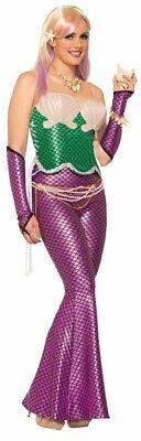 Damen Erwachsene Grün Mermad Korsett Mix & Match Kostüm - Match Kostüm