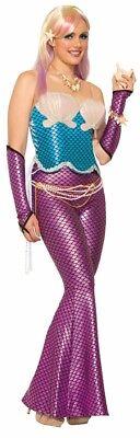 Damen Erwachsene Blau Mermad Korsett Mix & Match Kostüm - Match Kostüm