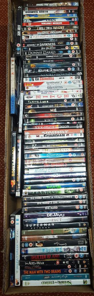 60 plus DVDs £20.