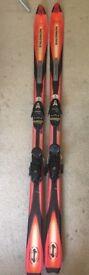 Salomon skis and bindings 170cm