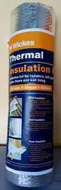 Wickes Thermal Insulation Foil - 8 m x 600 mm