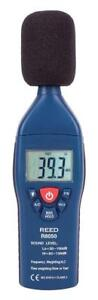NEW REED Instruments R8050 Sound Level Meter, Type 2, 30-100 and 60-130dB, -1.4 dB