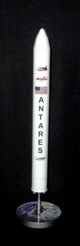 NASA OSC ANTARES Rocket Desk Top Display 1/144 MADE OF METAL AND PAINTED