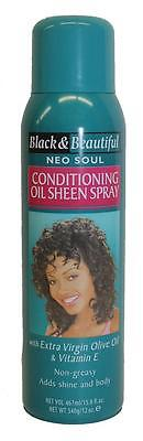 Black & Beautiful Neo Soul Conditioning Oil Sheen Spray for Women