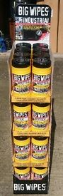 Incredible wipes 32 tubs & Display stand 25% extra Free only £3.75 each tub of