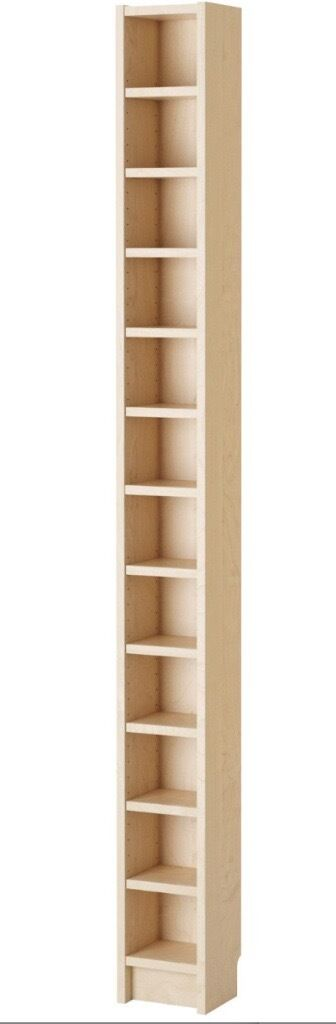 IKEA Benno (now Gnedby) CD/DVD Storage Tower Shelving In Birch (matches