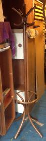 wooden coat hanger vintage