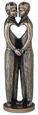 Genesis Bronze 'Love Is Love' (Male) Statue (QQ032) for sale  Dungannon