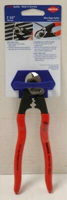 New - Knipex 95 61 190 Sba 7-12 Wire Rope Cutter