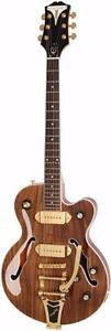 Guitare électrique Epiphone Wildkat Koa avec Bigsby